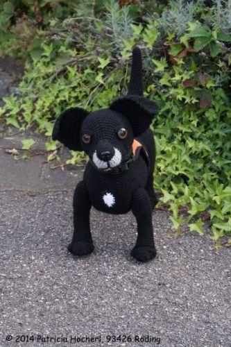 Häkelanleitung Hund Benny Pats Funny Pets Wolldesign
