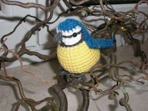 Anleitungspaket Vögel 1 Pats Funny Pets Wolldesign