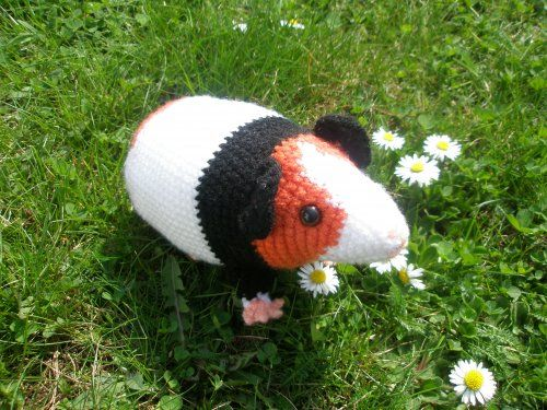 Häkelanleitung Meerschweinchen Pats Funny Pets Wolldesign