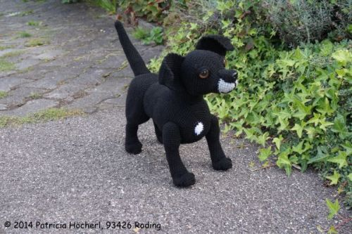 Häkelanleitung Hund Benny - Pat´s funny Pets & Wolldesign